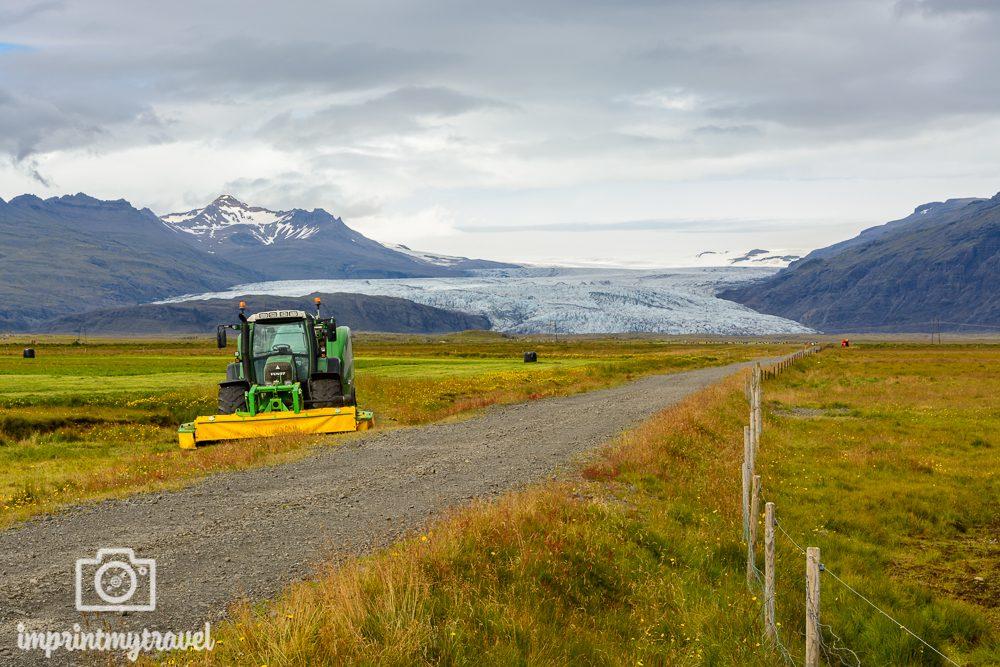 Island Reise Vatnajökull Gletscher