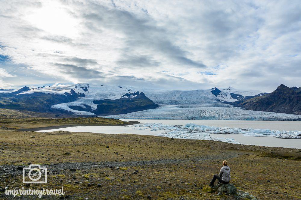 Island Reise geheime Gletscherlagune Fjallsárlon