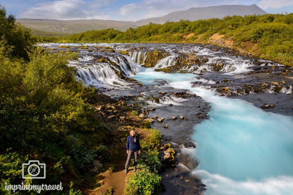 Island Reise Bruarfoss