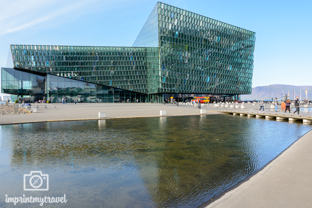 Island Reise Reykjavik Konzerthaus Harpa