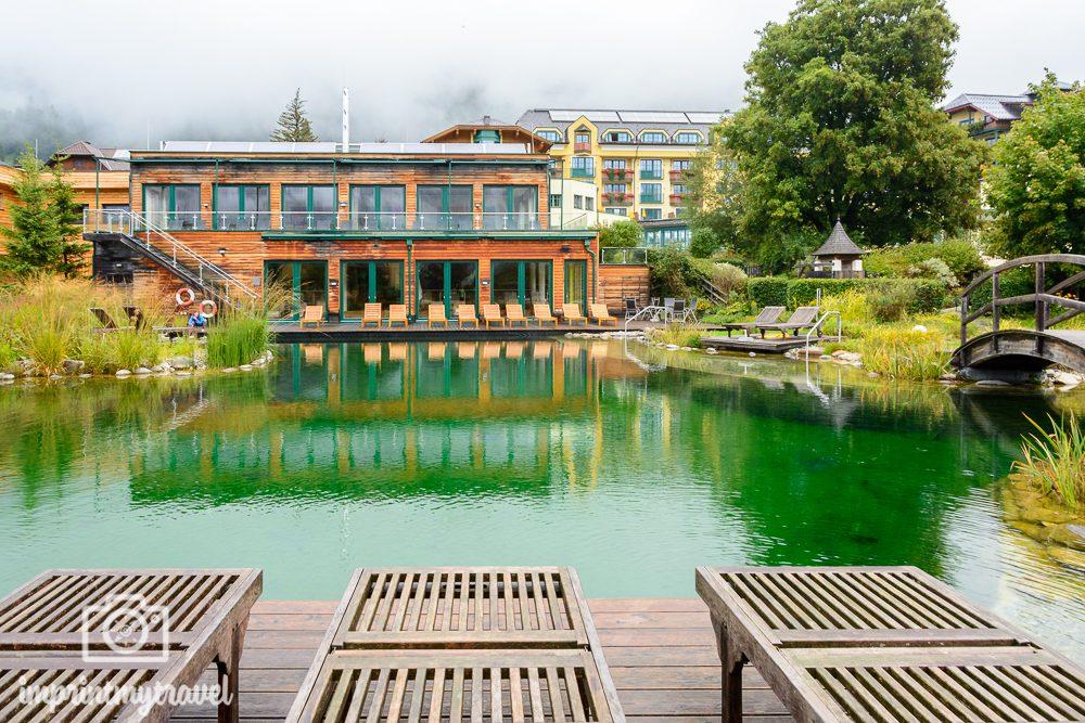 Ferienregion Salzburger Lungau Eggerwirt Badeteich