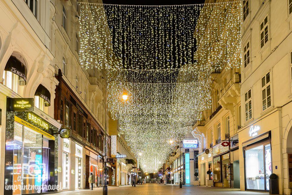 Weihnachten in Wien Kohlmarkt