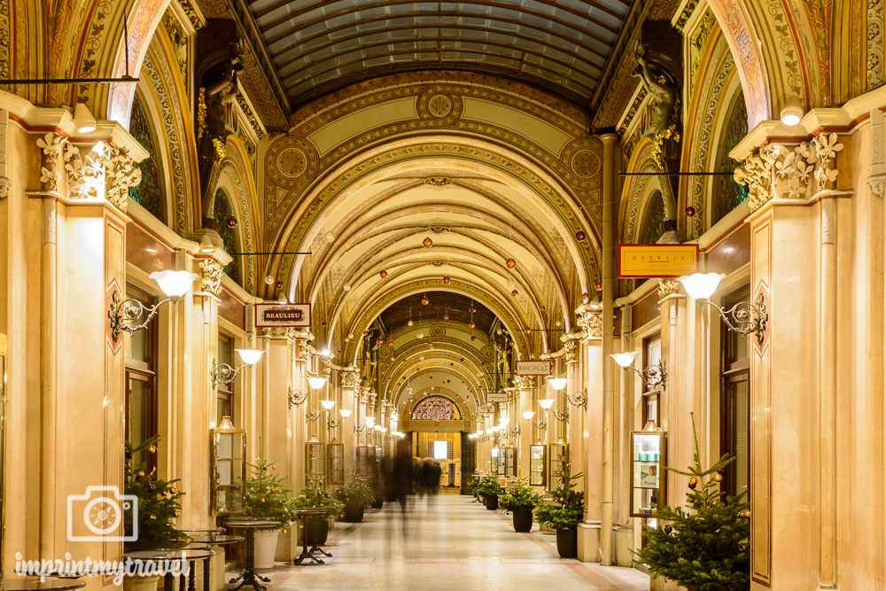Weihnachten in Wien Palais Ferstel Passage