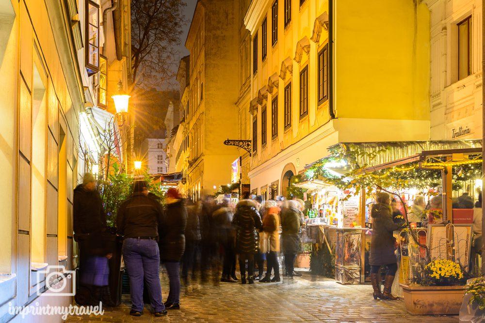 Weihnachten in Wien Spittelberg Christkindlmarkt