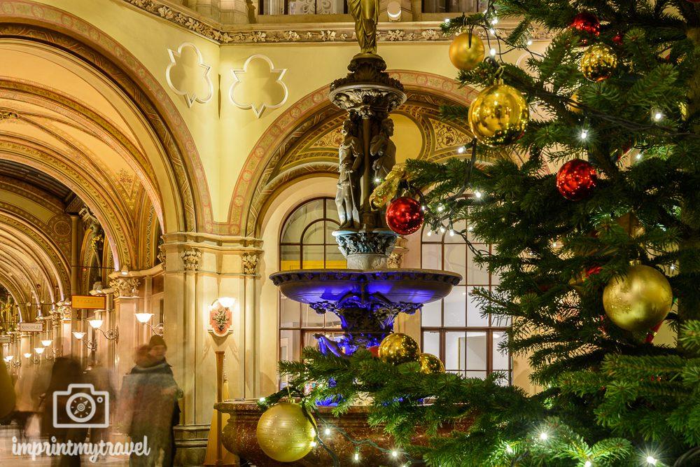 Weihnachten in Wien Ferstel Passage