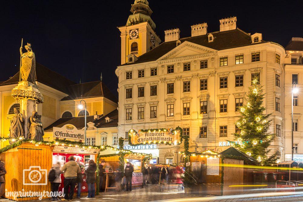 Weihnachten in Wien Altwiener Christkindlmarkt Freyung