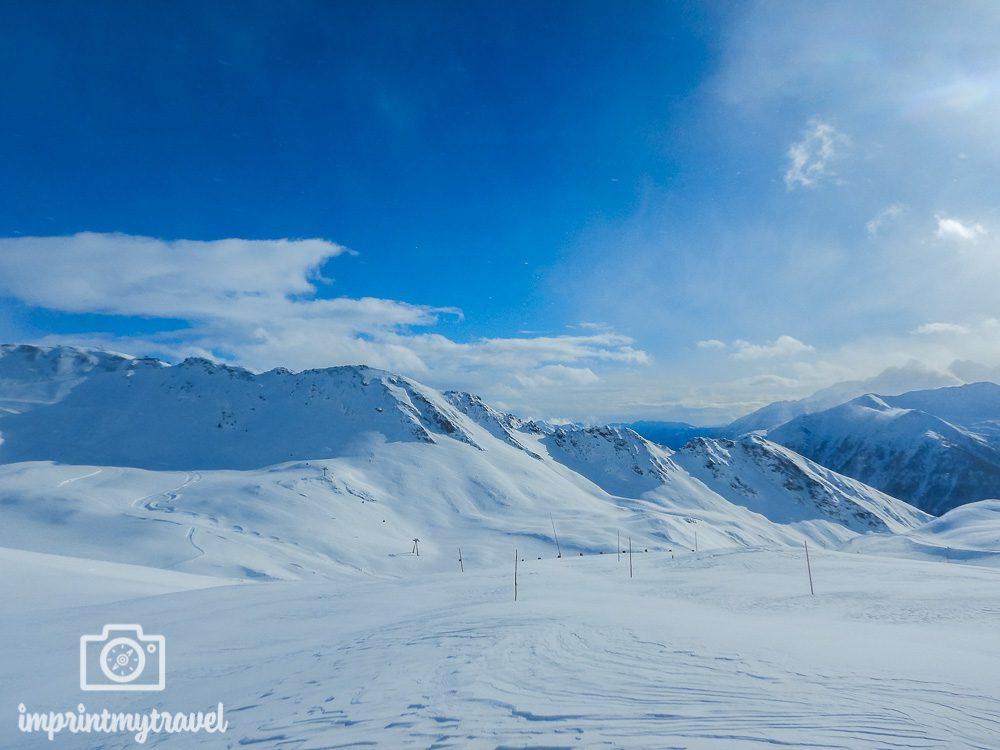 Skifahren in Heiligenblut Freeride Arena