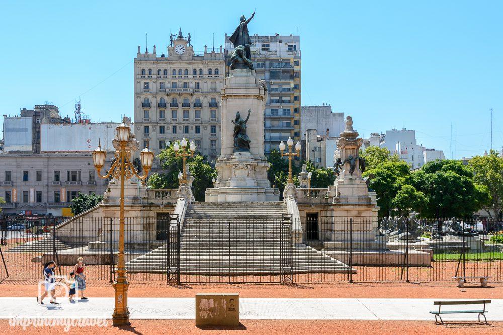 Sehenswürdigkeiten in Buenos Aires Plaza de Mayo