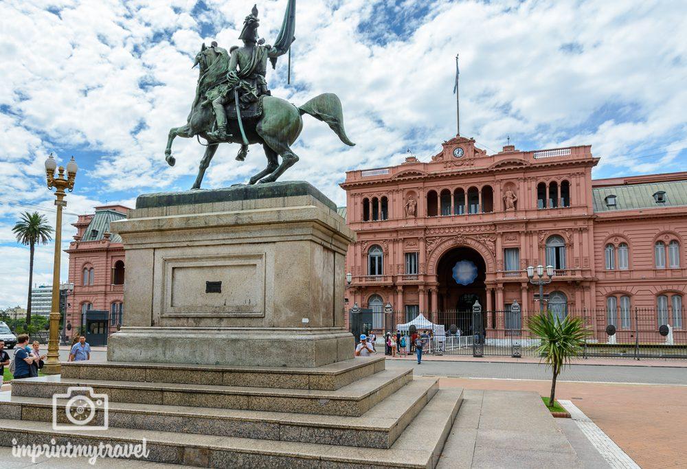Sehenswürdigkeiten in Buenos Aires Casa Rosada