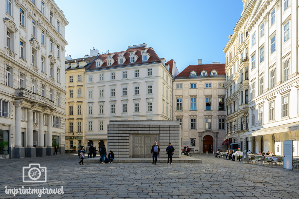 Heimatliebe Wien Judenplatz