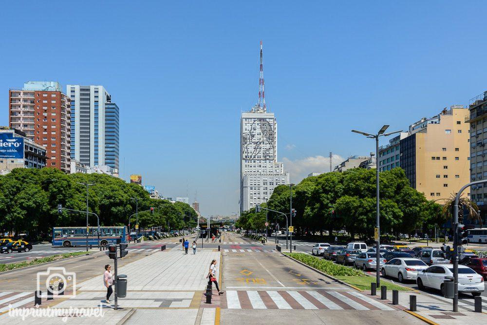 Buenos Aires Sehenswürdigkeiten Av. de Julio