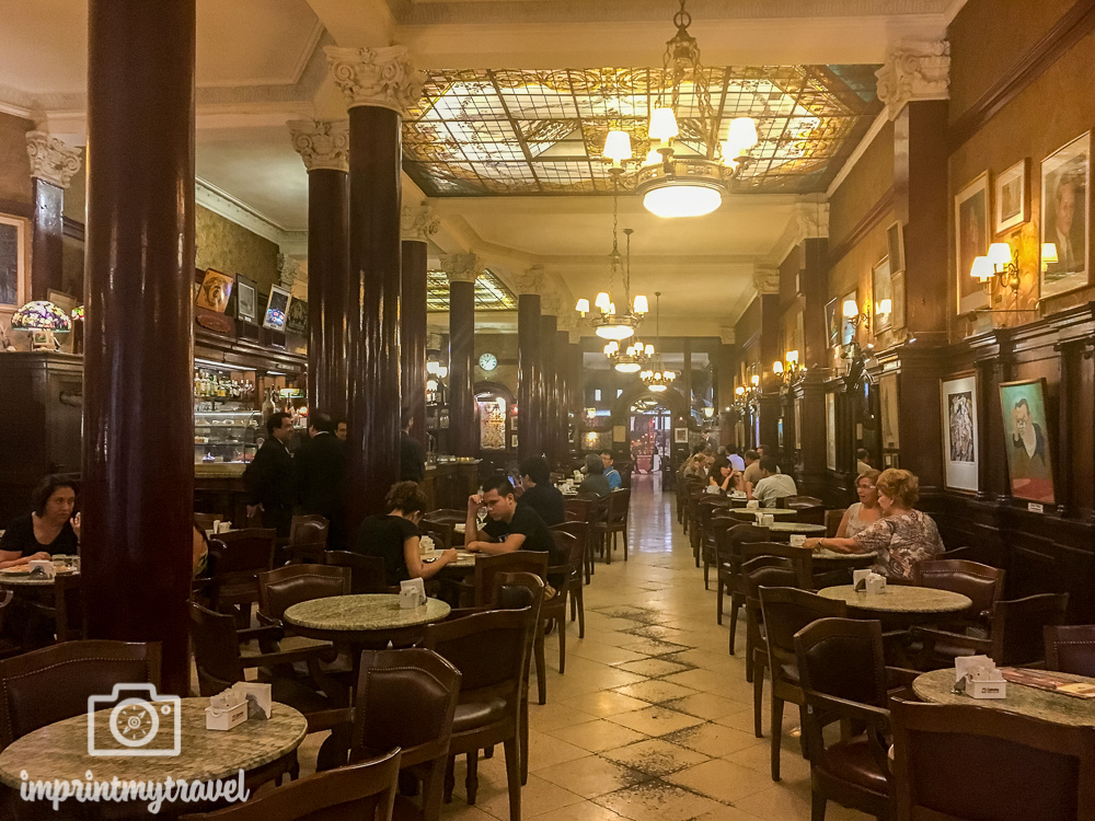 Buenos Aires Sehenswürdigkeiten Tortoni
