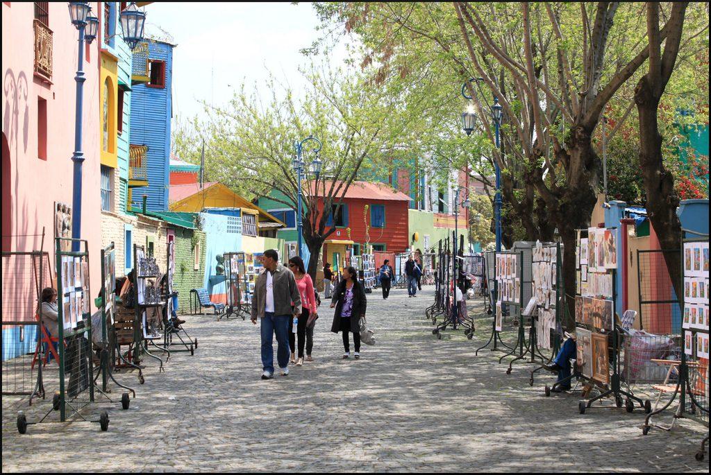 Sehenswürdigkeiten in Buenos Aires La Boca