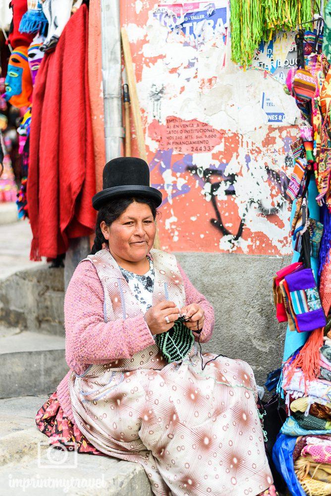 Bolivien Bilder La Paz Einheimische