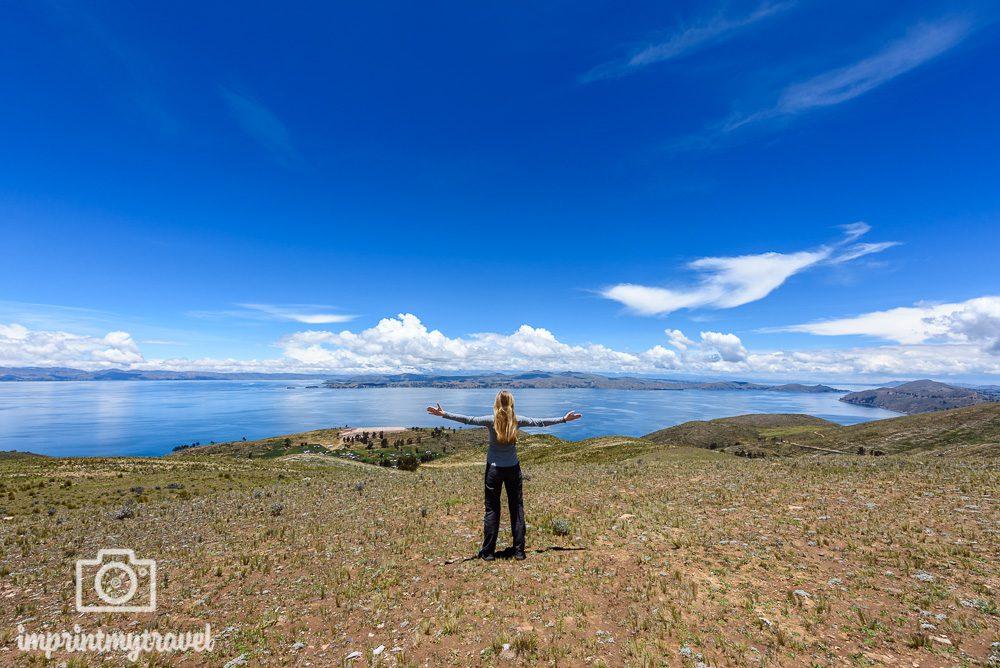 Bolivien Bilder Titicaca-See