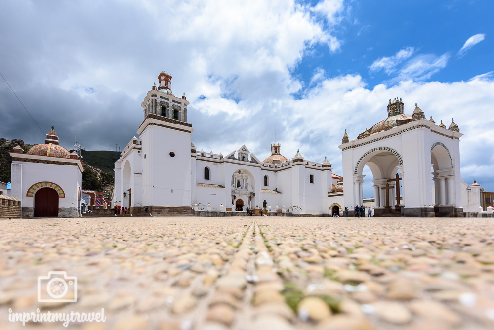 Bolivien Bilder Copacabana Kathedrale