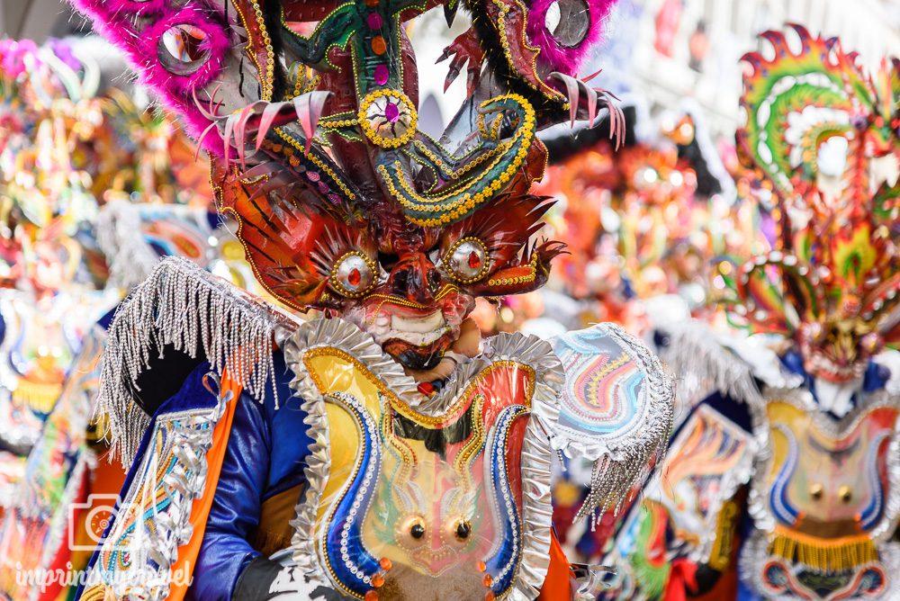 Bolivien Bilder Oruro Karneval