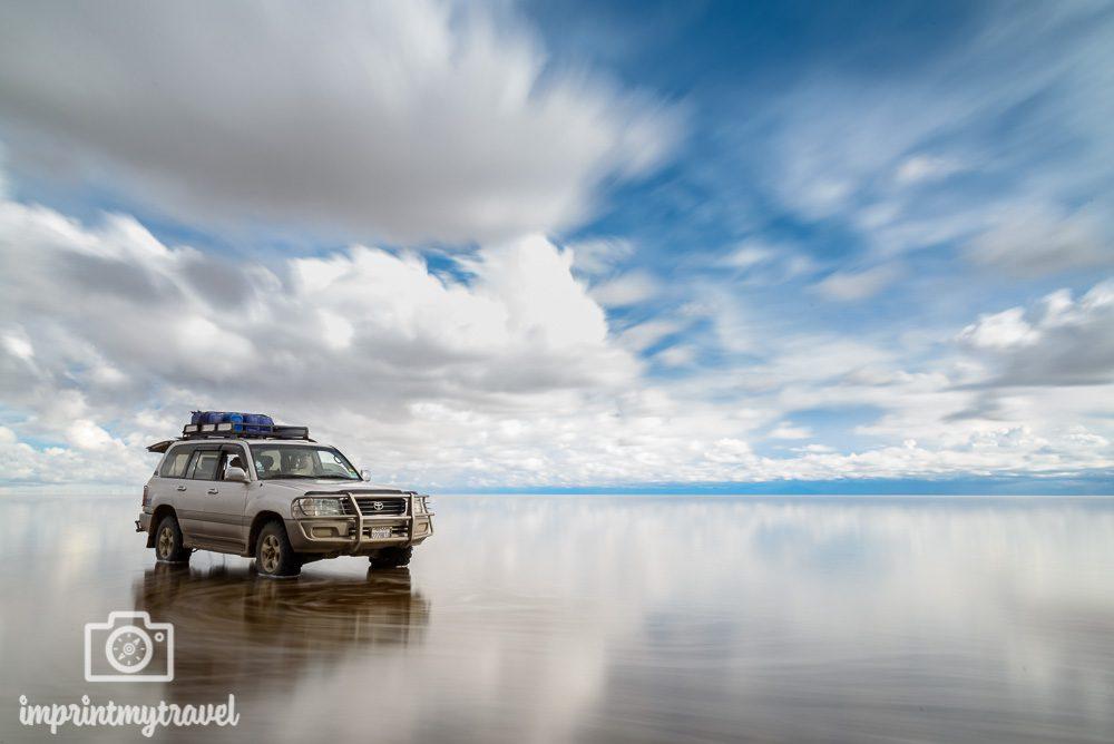 Bolivien Bilder Salar de Uyuni Langzeitbelichtung