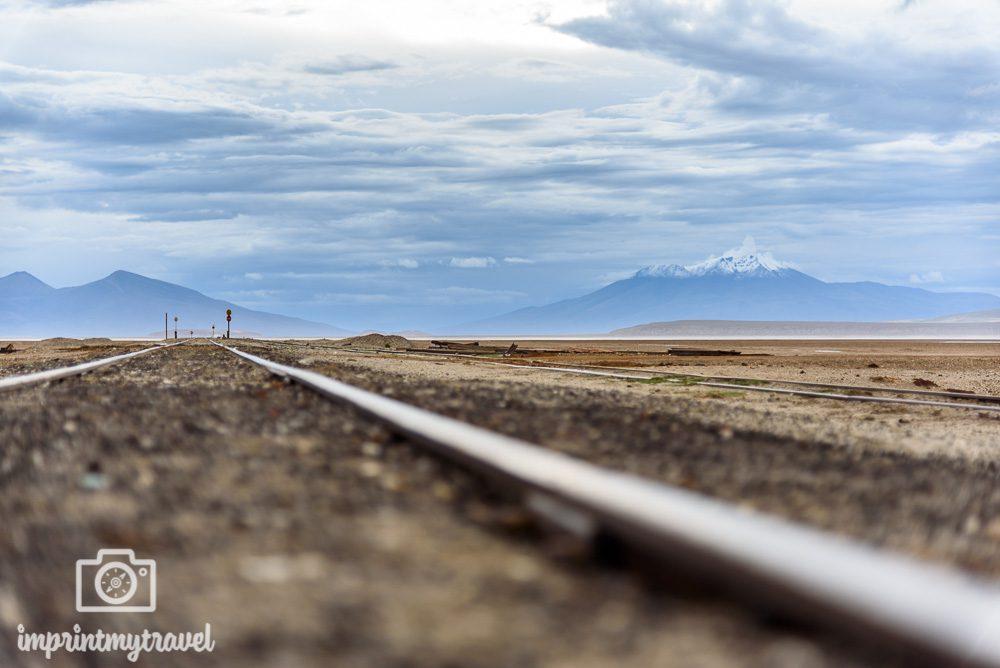 Bolivien Bilder Altiplano Eisenbahn