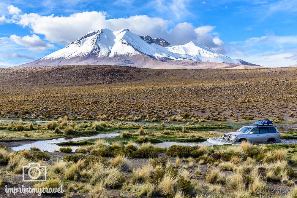 Bolivien Bilder Hochland Jeep