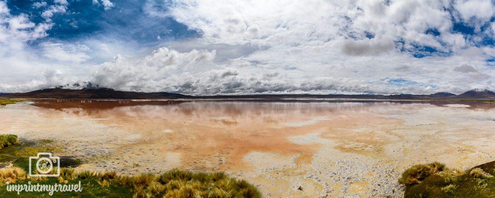 Bolivien Bilder Laguna Colorada Panorama