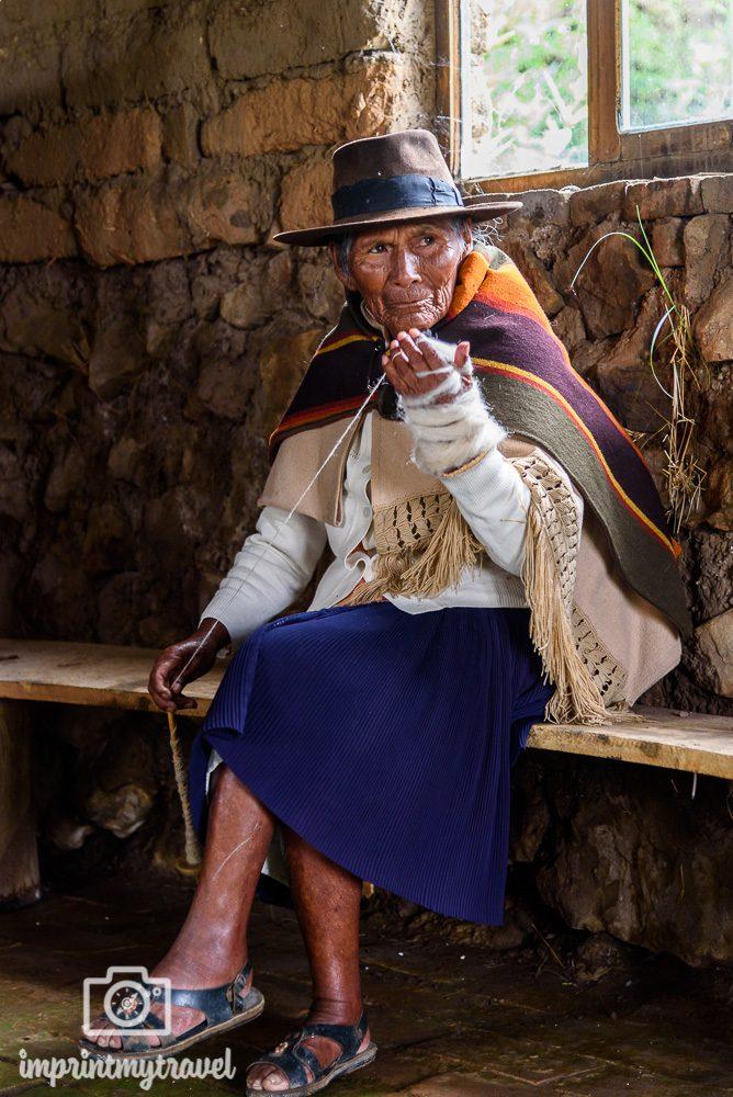 Bolivien Bilder Sucre Senora