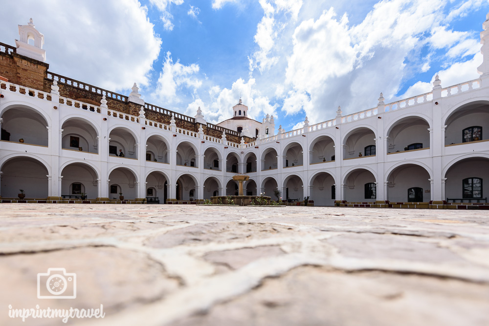 Bolivien Bilder Sucre San Felipe de Neri
