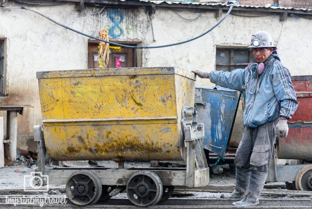 Bolivien Bilder Potosi Mine