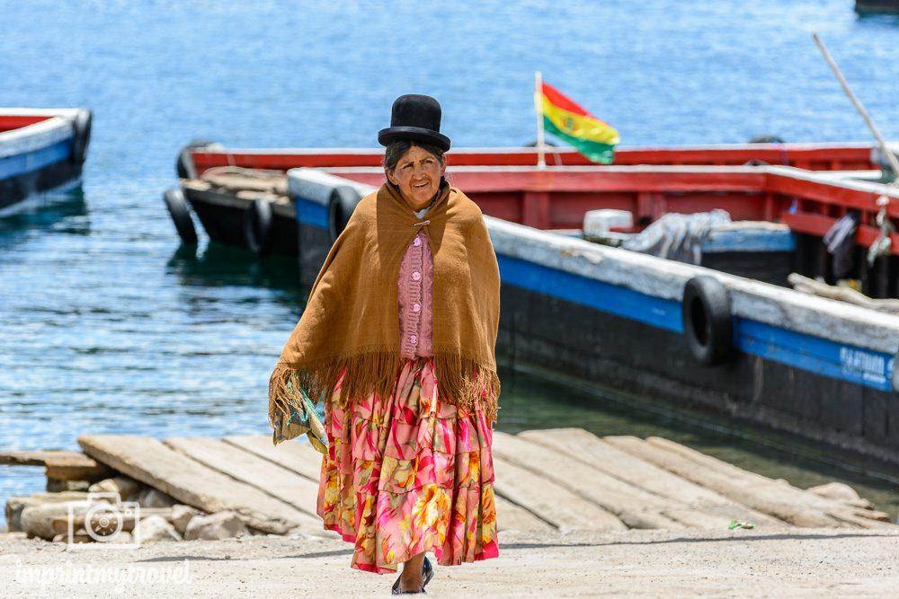 Bolivien Bilder Einheimische Titicaca-See