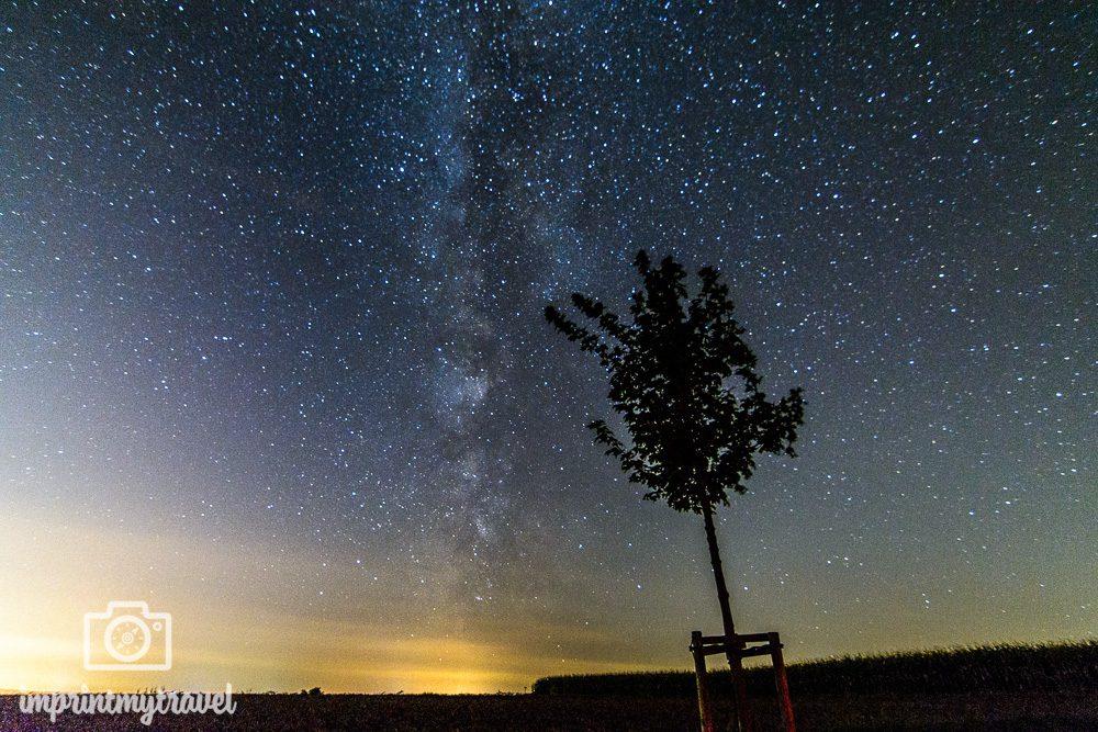 Tutorial Astrofotogtafie Milchstraße