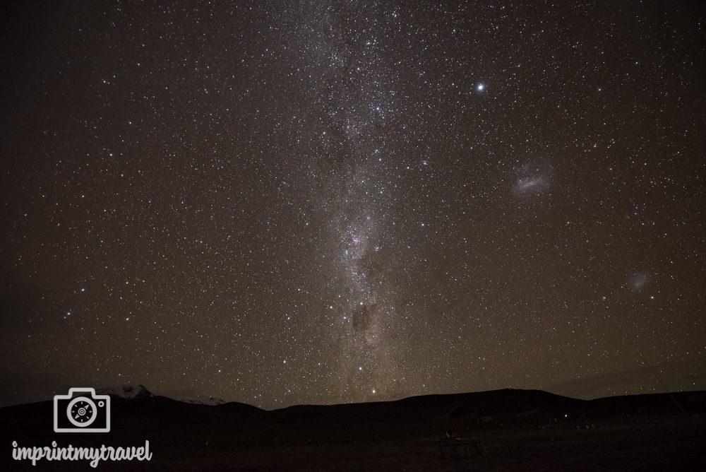 Tutorial Astrofotografie: Milchstraße unbearbeitet