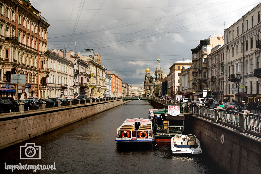 Sehenswürdigkeiten St. Petersburg Bluterlöser Kirche