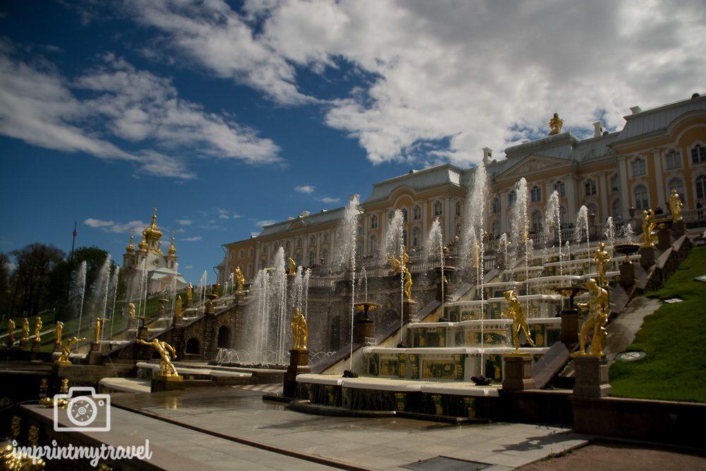 Sehenswürdigkeiten St. Petersburg Peterhof