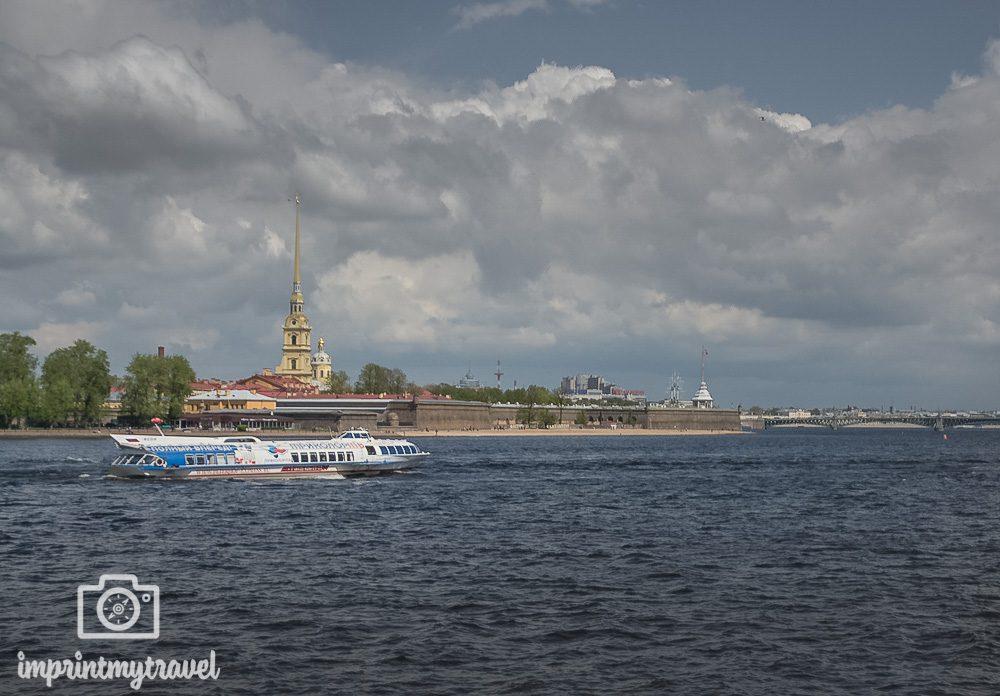 Sehenswürdigkeiten St. Petersburg Festung
