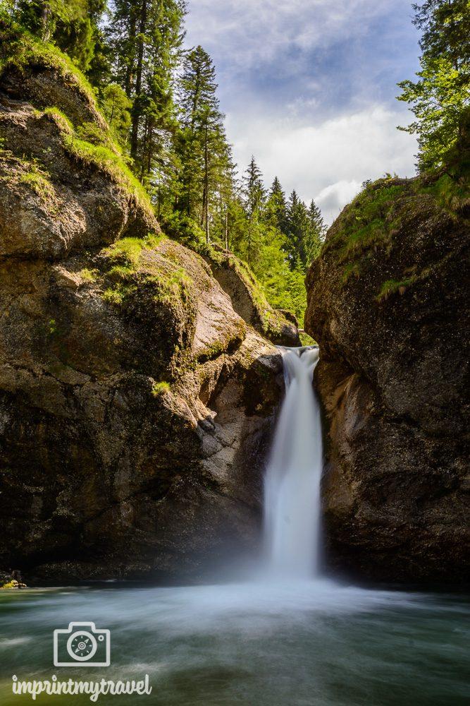 Urlaub im Allgäu Buchenegger Wasserfälle