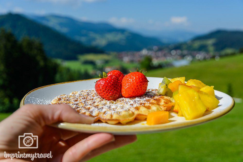 Haubers Naturresort Bergfrühstück