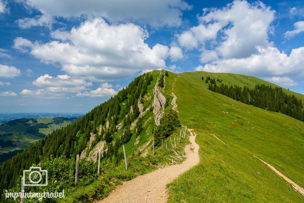 Panorama Wandern Hochgrat