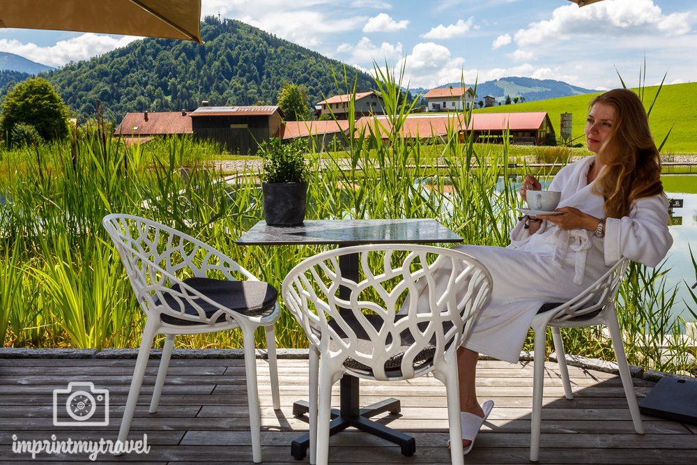 Urlaub im Allgaeu Hauber's Naturresort Entspannung
