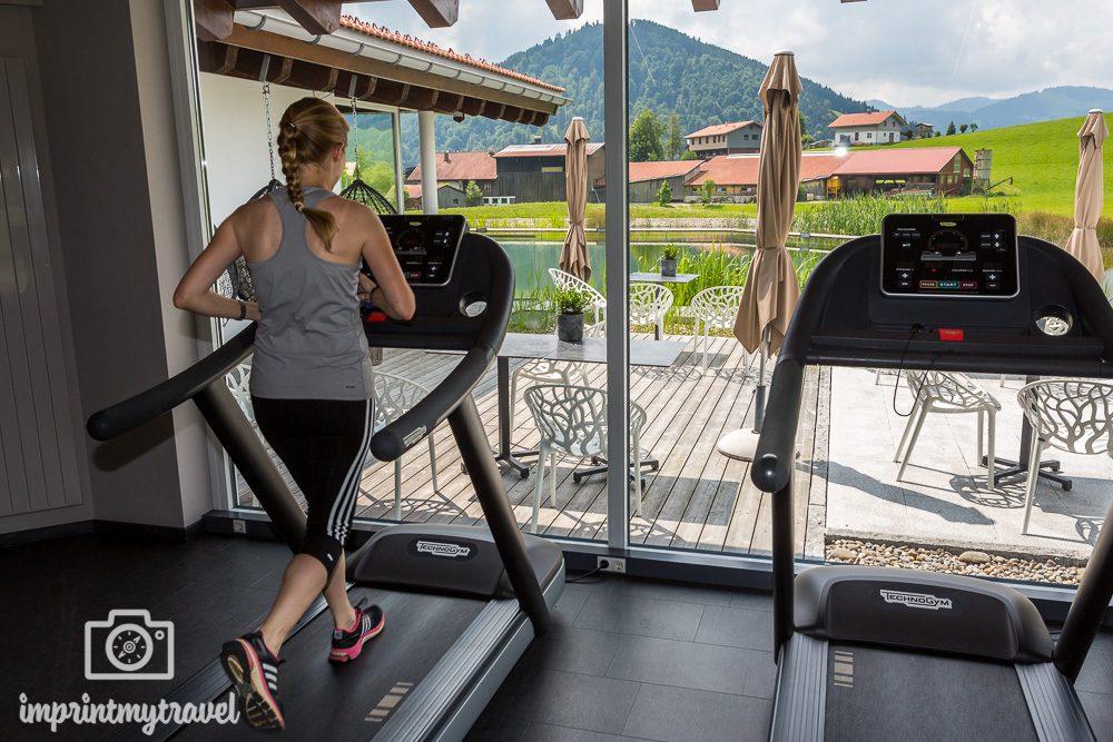 Haubers Naturresort Fitnessstudio