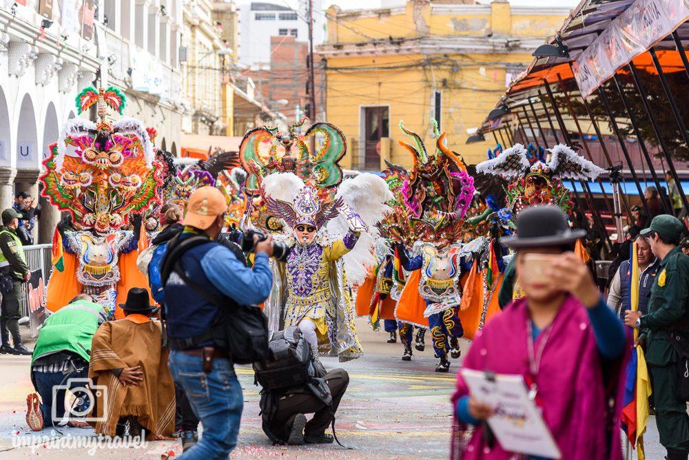 Bolivien Sehenswürdigkeiten Karneval Oruro