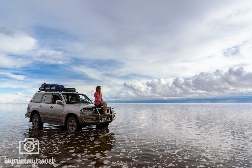 Bolivien Sehenswürdigkeiten Salar de Uyuni überflutet