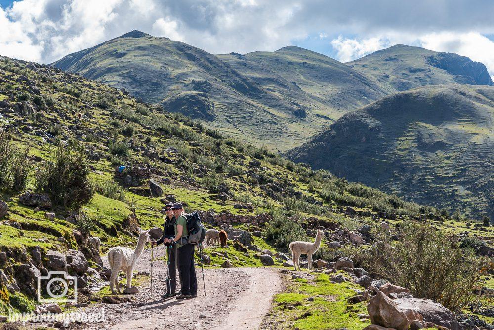 Lares Trekking nach Machu Picchu Tag 1