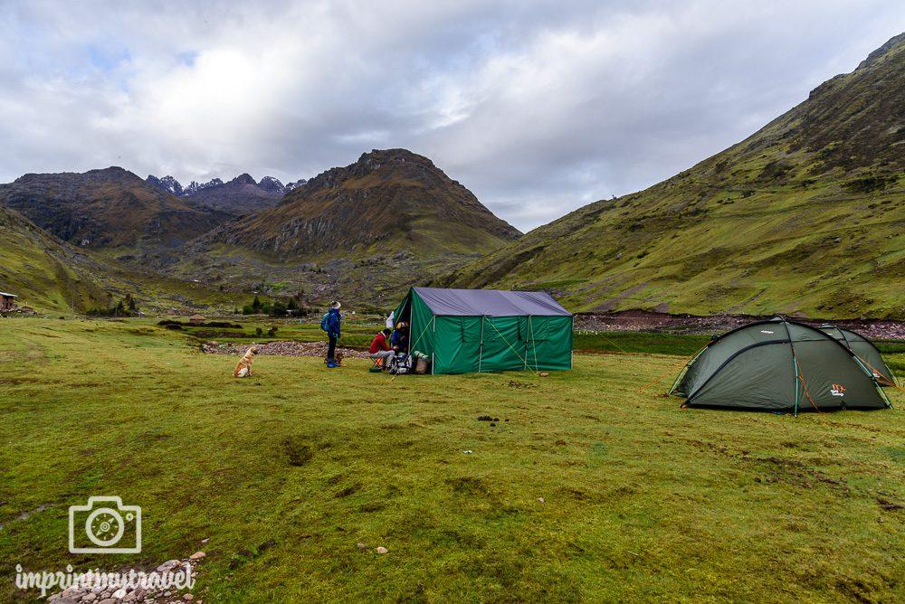 Lares Trekking nach Machu Picchu Camp