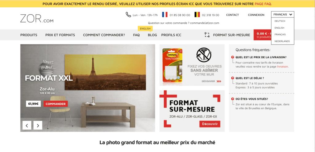 Wandbilder online bestellen Startseite