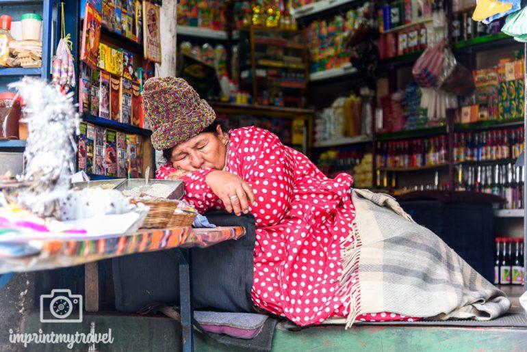 Bolivien Reise Hexenmarkt La Paz