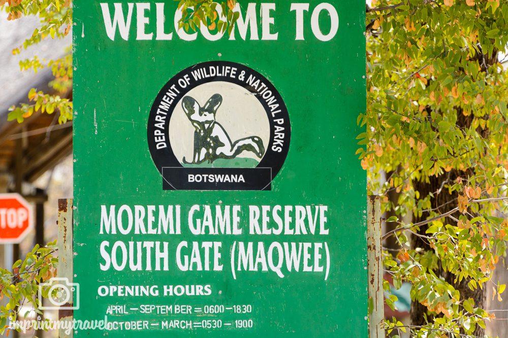 Safari in Botswana Moremi Game Reserve in Botswana