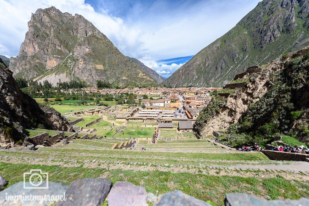 Lares Trekking nach Machu Picchu Ollantaytambo