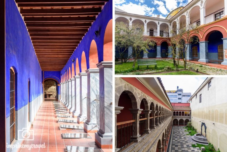 La Paz Basilika San Francisco Kloster