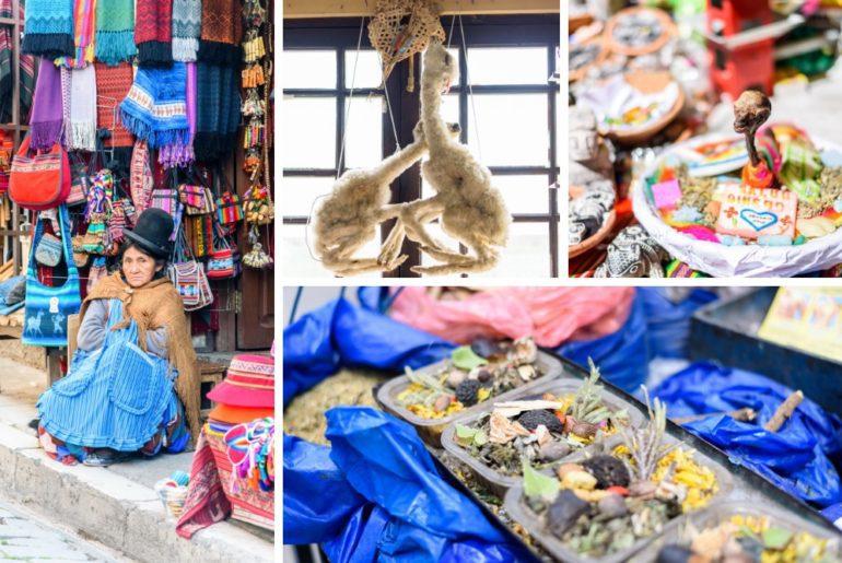 Bolivien Reise La Paz Hexenmarkt
