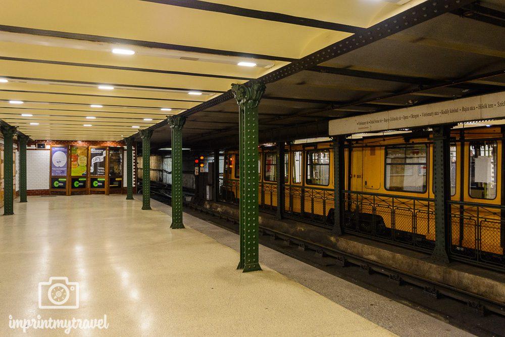 Städtereise Budapest öffentlicher Verkehr